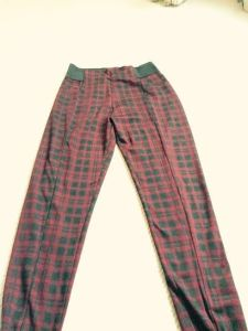 tartan leggings