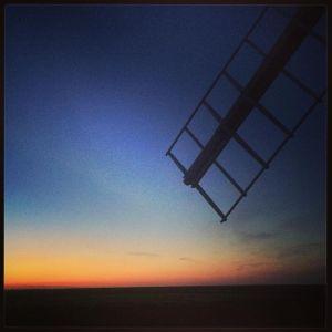 Windmill Dusk