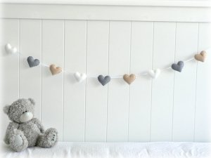 love heart banner