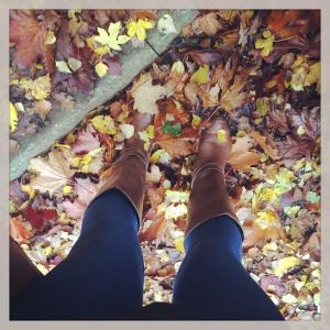 autumn feet