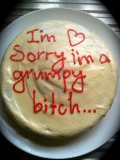 cake sorry