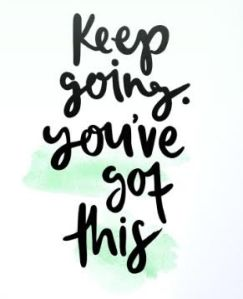 keep going you got this