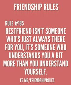 friend rules