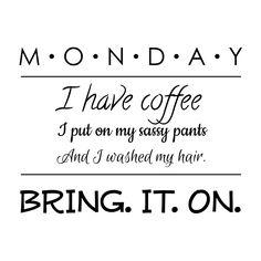 sassy Monday